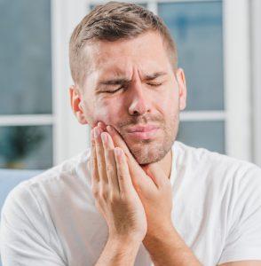 נפיחות אחרי התשלת שיניים