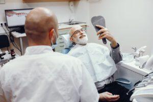 תמונה של השתלת שיניים זירקוניה